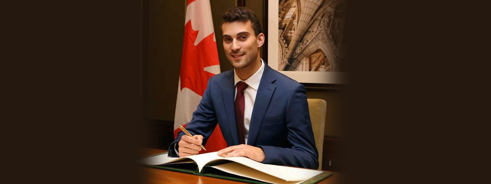 """he COVID-19 pandemic has had a major impact on Eric and his fellow MPs. """"I can't go out in my riding and meet with people and we now have hybrid House of Commons meetings – some in person and some virtually."""""""