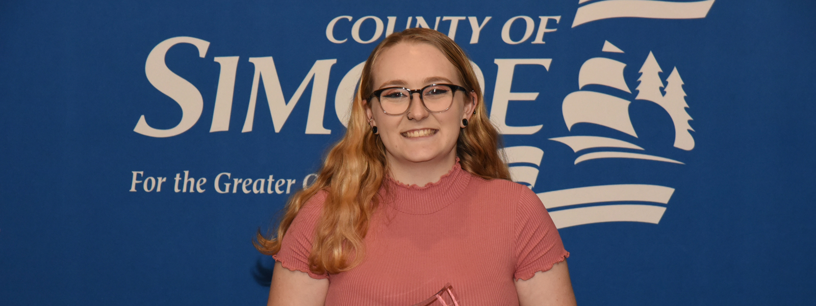 """Sarah Simpson is training to be a primary/junior teacher. Although, she says, """"I would also be interested in working with high school students later in my career."""""""
