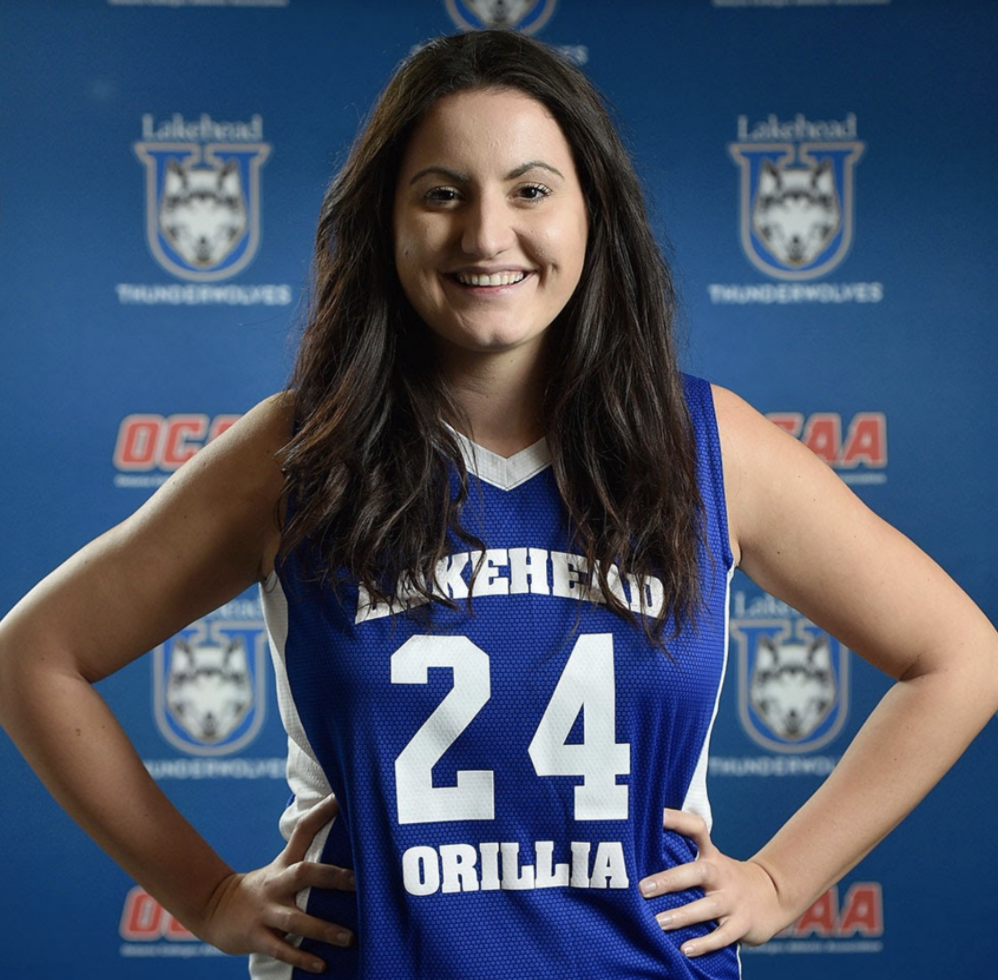 Gia Spiropoulos basketball headshot
