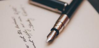 Ink pen on paper