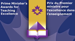 Prime Minister's Teaching Award of Excellence logo