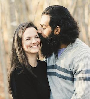 Rudy Grewal and his wife Megan