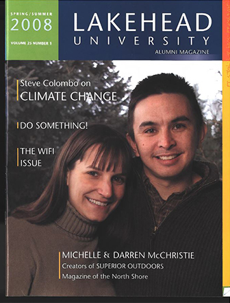 This issue of the Alumni Magazine features articles on Superior Outdoors, climate change, and news from around campus.