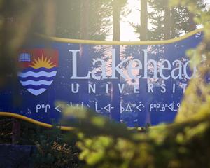 Lakehead University Signage