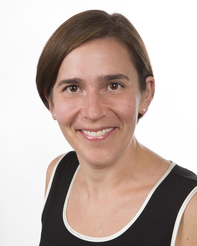 Headshot of Deborah Scharf on a white background