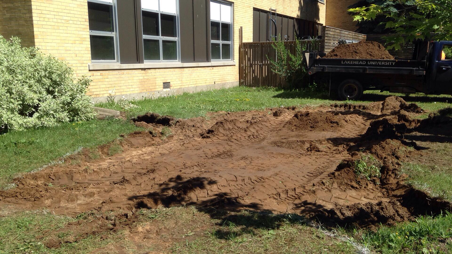 Breaking Ground on the Braun Building Stormwater Management and ...