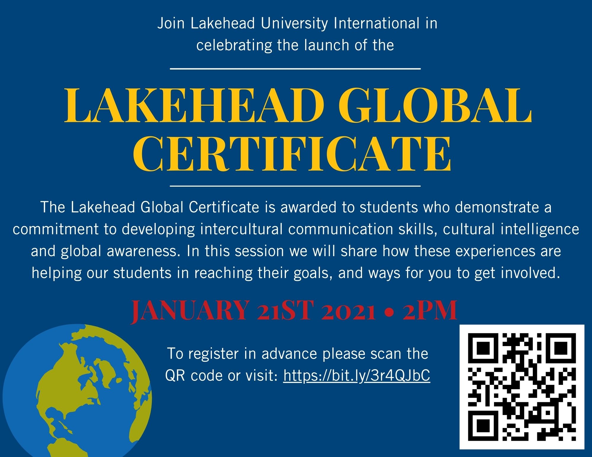 Join Lakehead University International in celebrating the launch of the Lakehead Global Certificate