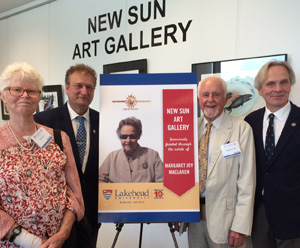 New Sun Art Gallery Opening