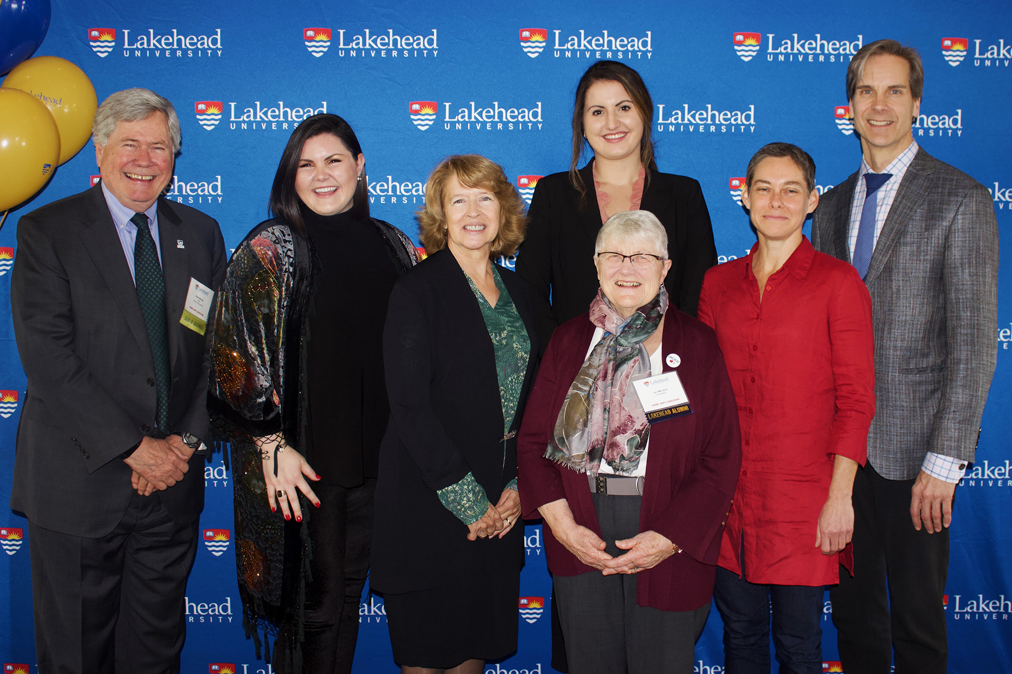 Lakehead Orillia's report to community student, faculty and alumni speakers