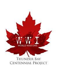 WW1 Thunder Bay Centennial Logo