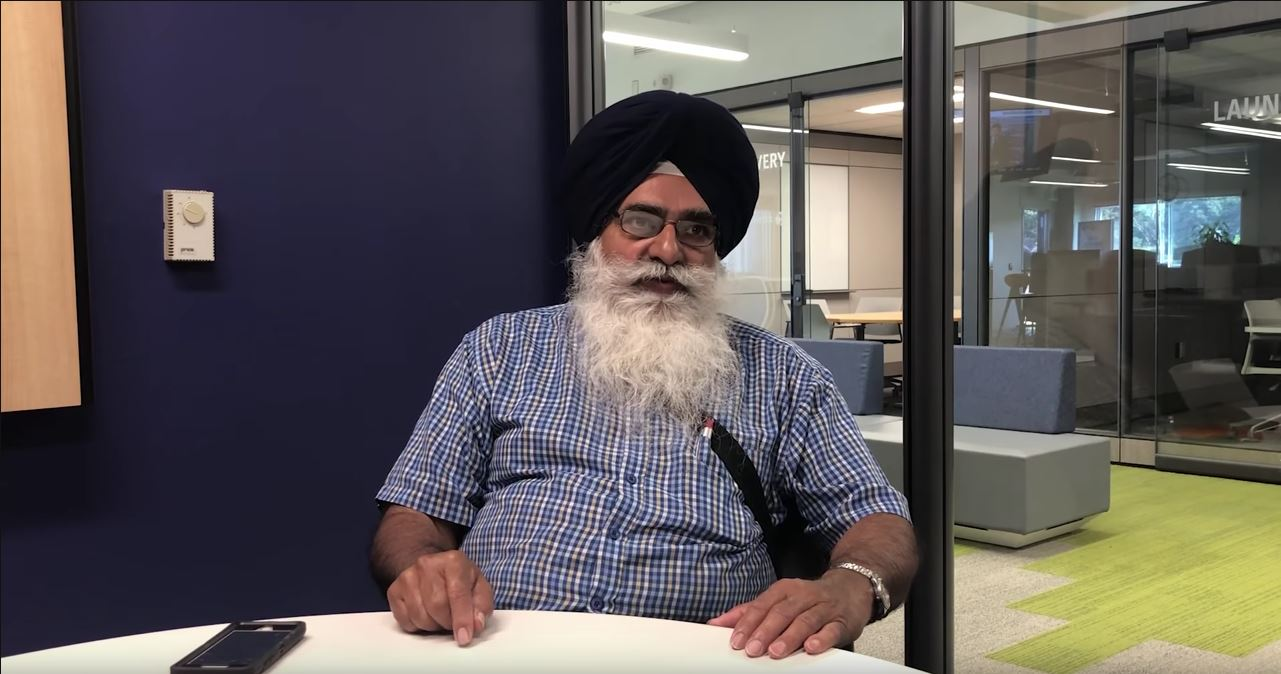 Tarlok Sahota during an interview at the NWO Innovation Centre