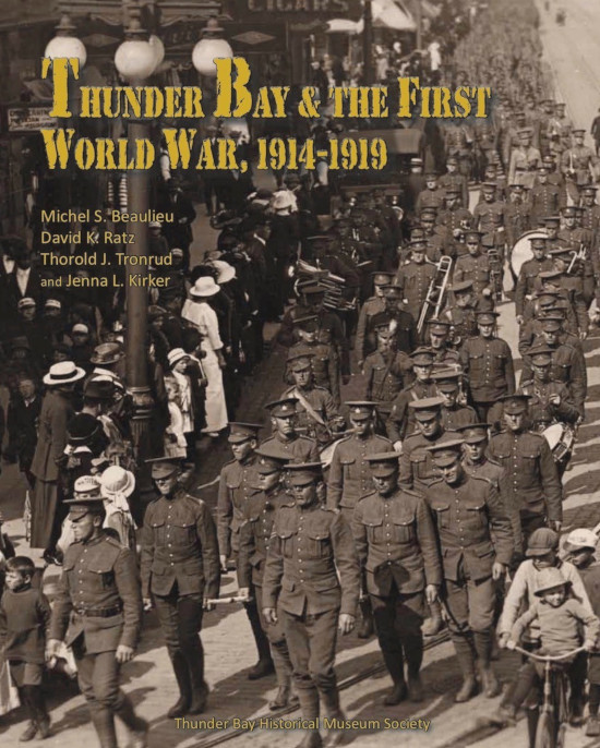 Cover of Thunder Bay and the First World War