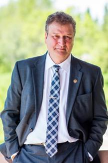 Lakehead University President, Dr. Brian Stevenson