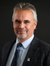 Headshot of Dr. David Barnett, Provost & Vice President (Academic)