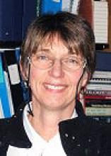 A headshot of Dr. Nancy Luckai