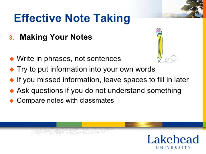 effective notetaking Note taking from reading it is important when writing notes that you are clear about the purpose of the notes you are producing think about what you will do with.