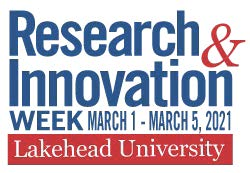 Research and Innovation Week Logo 2021 with Dates