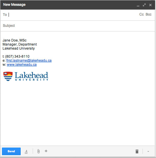 example of email signature