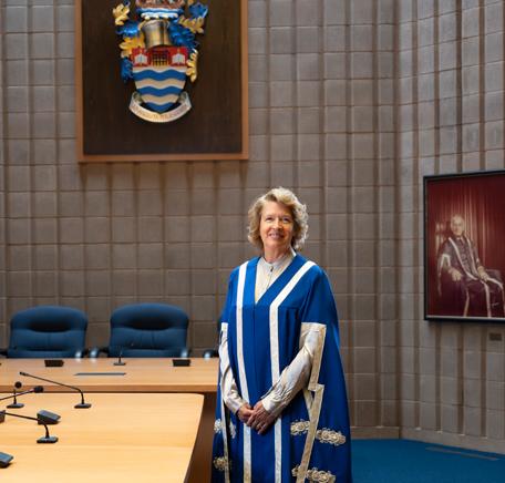 President & Vice-Chancellor Moira McPherson