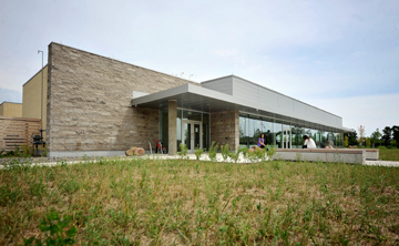 This is a picture of a modern building at Lakehead Orillia. Click the picture to visit our Lakehead Orillia pages