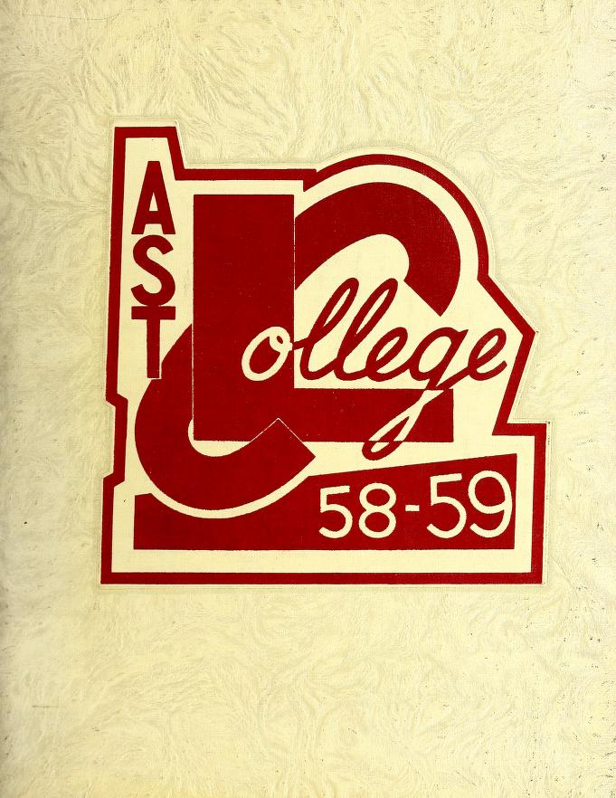 Lakehead Technical Institute Yearbook Cover from 1959