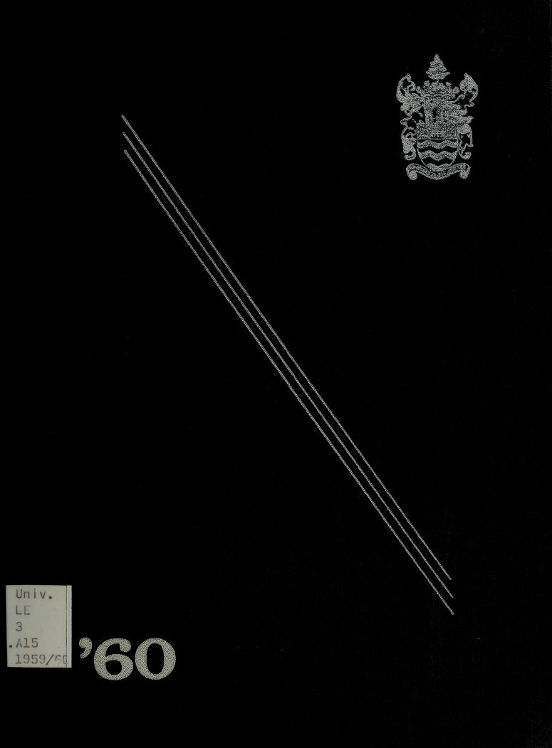 Lakehead University Yearbook Cover from 1960