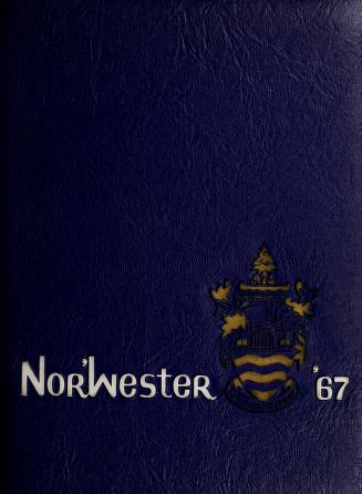 Lakehead University Yearbook Cover from 1967
