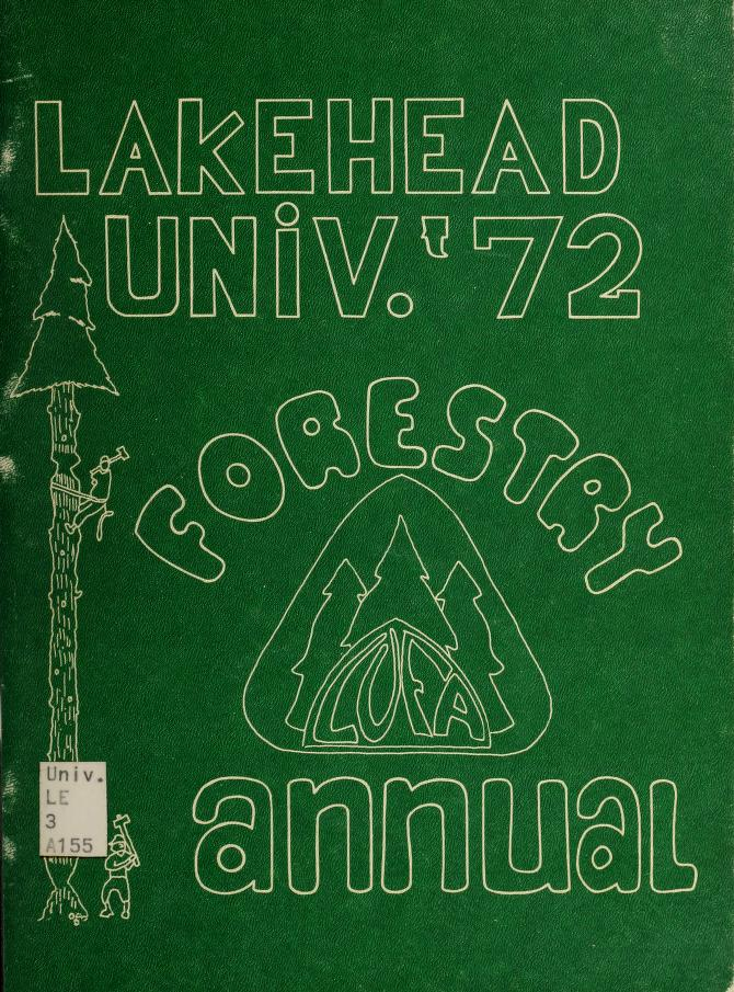 Lakehead University Yearbook Cover from 1971