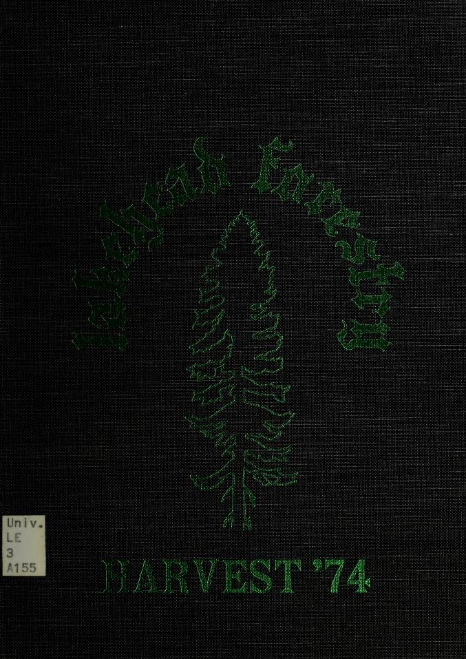 Lakehead University Yearbook Cover from 1974