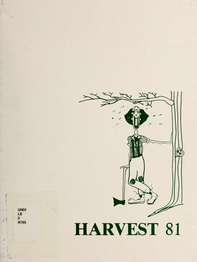 Lakehead University Yearbook Cover from 1981