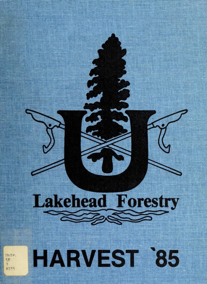 Lakehead University Yearbook Cover from 1985