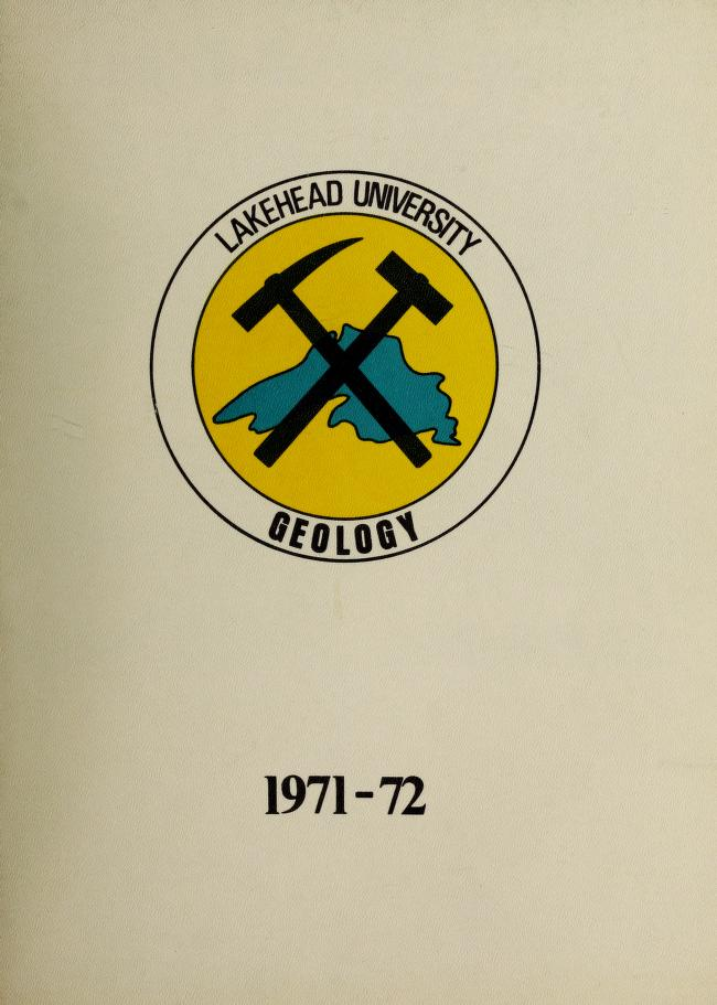 Lakehead University Yearbook Cover from 1972