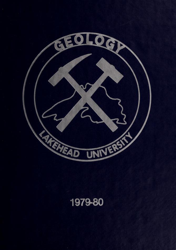 Lakehead University Yearbook Cover from 1980