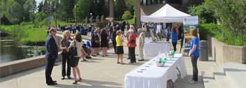 Donor events on campus