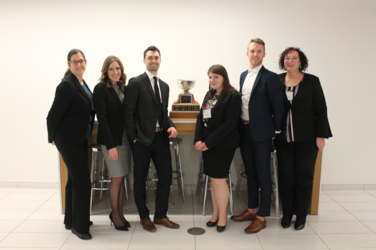 Photo of Bora Laskin School of Law Moot Team