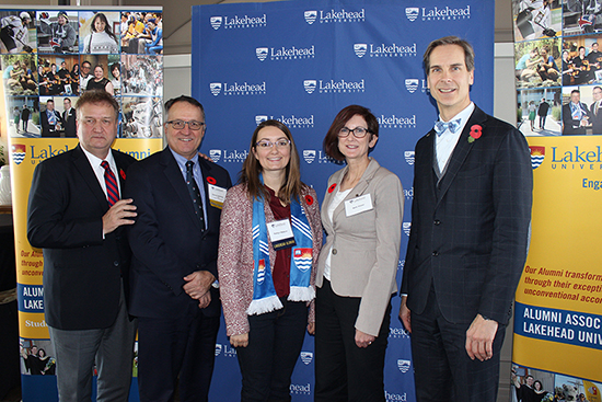 Lakehead Orillia launched its 2016-2017 Report to the Community on November 10 in Orillia, Ont.