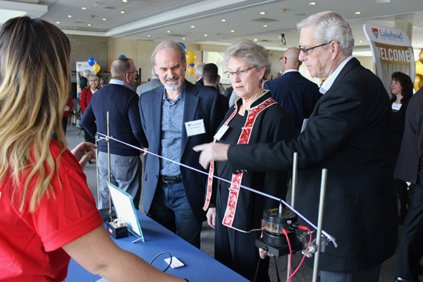 Attendees had the opportunity to see first-hand what hands-on learning means at Lakehead University
