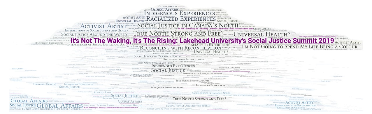 It's Not The Waking, It's The Rising: Lakehead University's Social Justice Summit