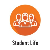 Student Life is one of the five departments under Student Affairs