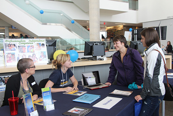 Prospective university students get a chance to meet professors and current students at Lakehead Orillia's Fall Preview Day on Saturday, October 25.