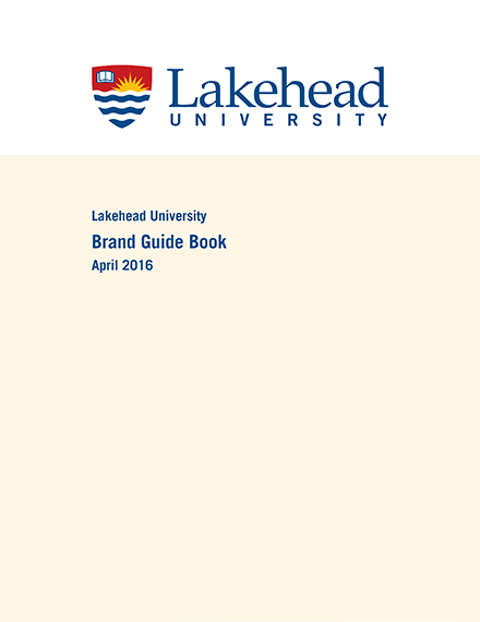 Cover of the Brand Guide Book
