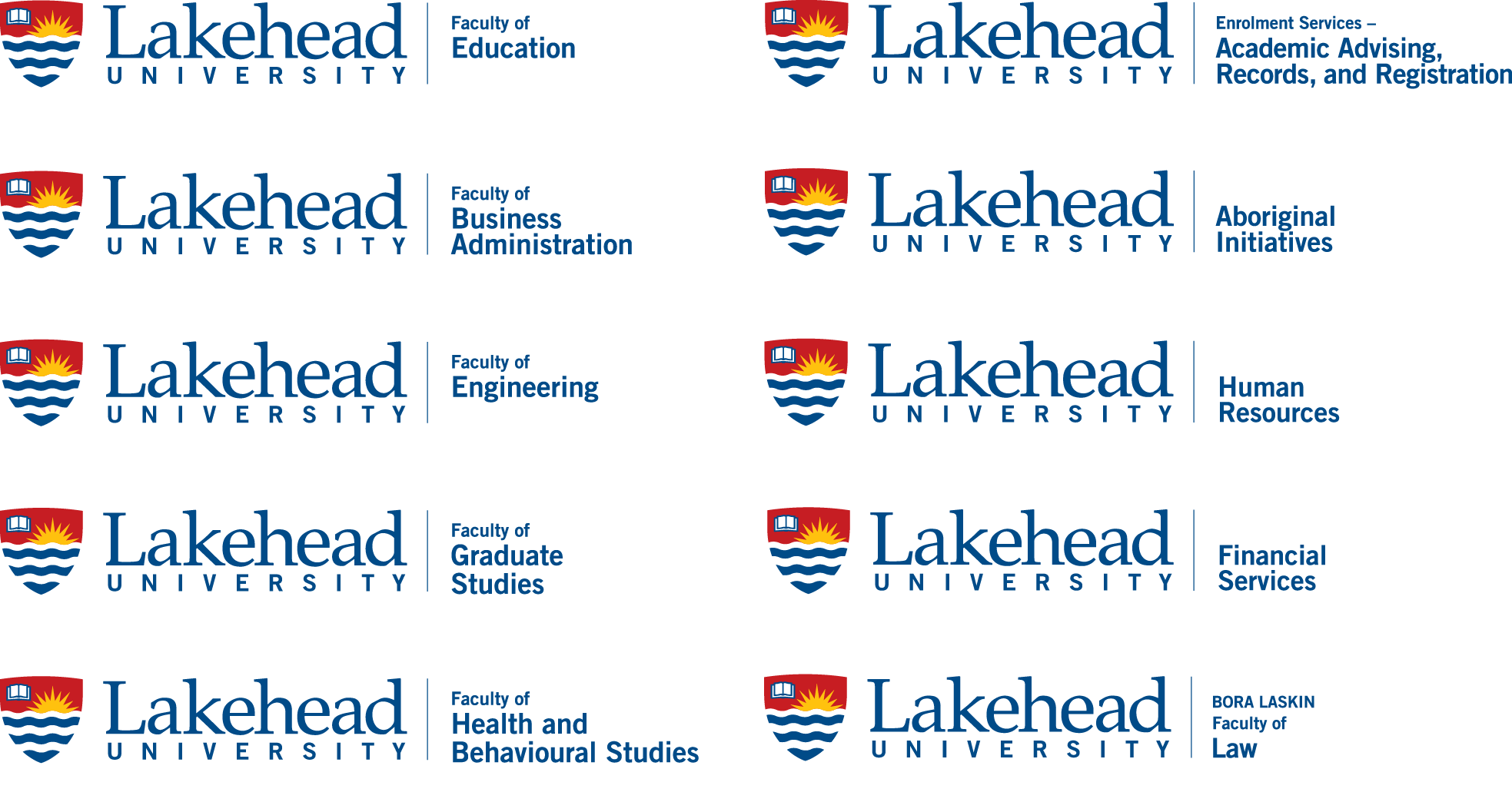 Lakehead University Faculty Identities