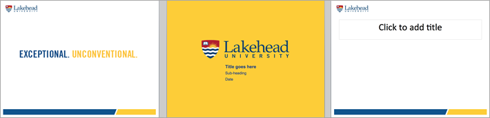 powerpoint lakehead university