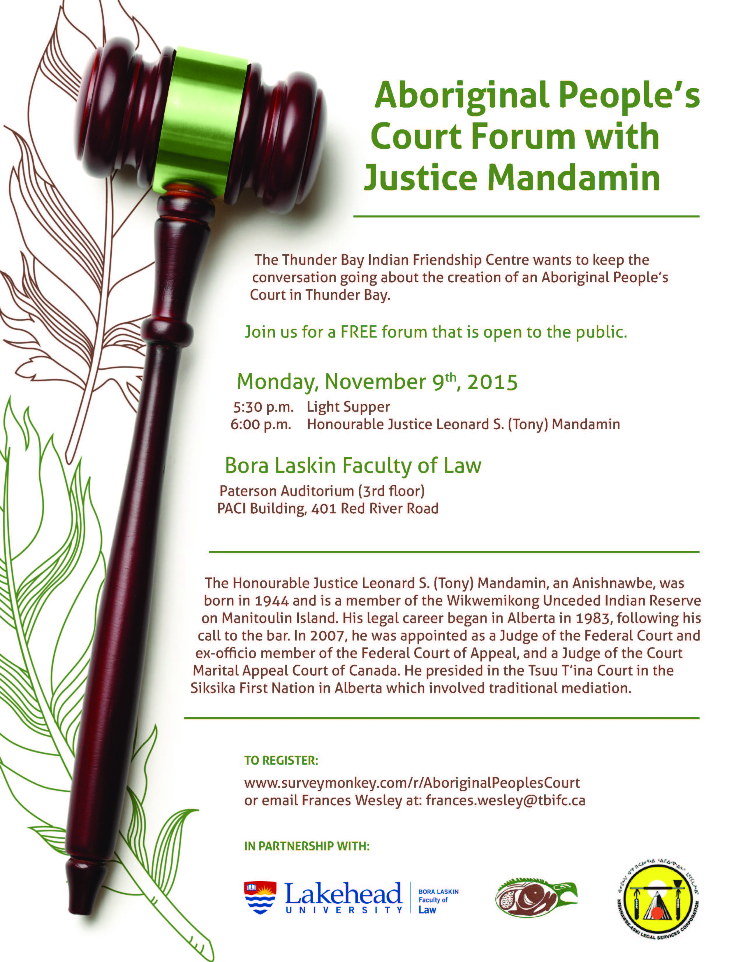 Aboriginal People's Court Forum