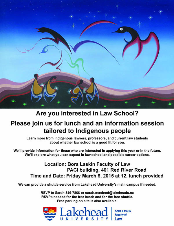 Indigenous Law Feast Poster