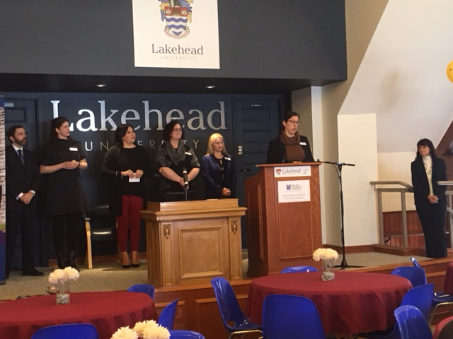 Bora Laskin Faculty of Law faculty & staff members speaking during our Student Welcome Day