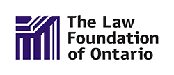 Logo for The Law Foundation of Ontario