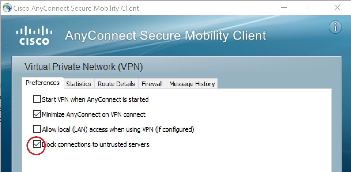 Virtual Private Network (VPN) | Lakehead University