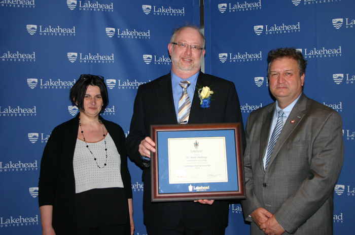 2015 NSERC Distinguished Research Award Recipient - Dr. Peter Hollings