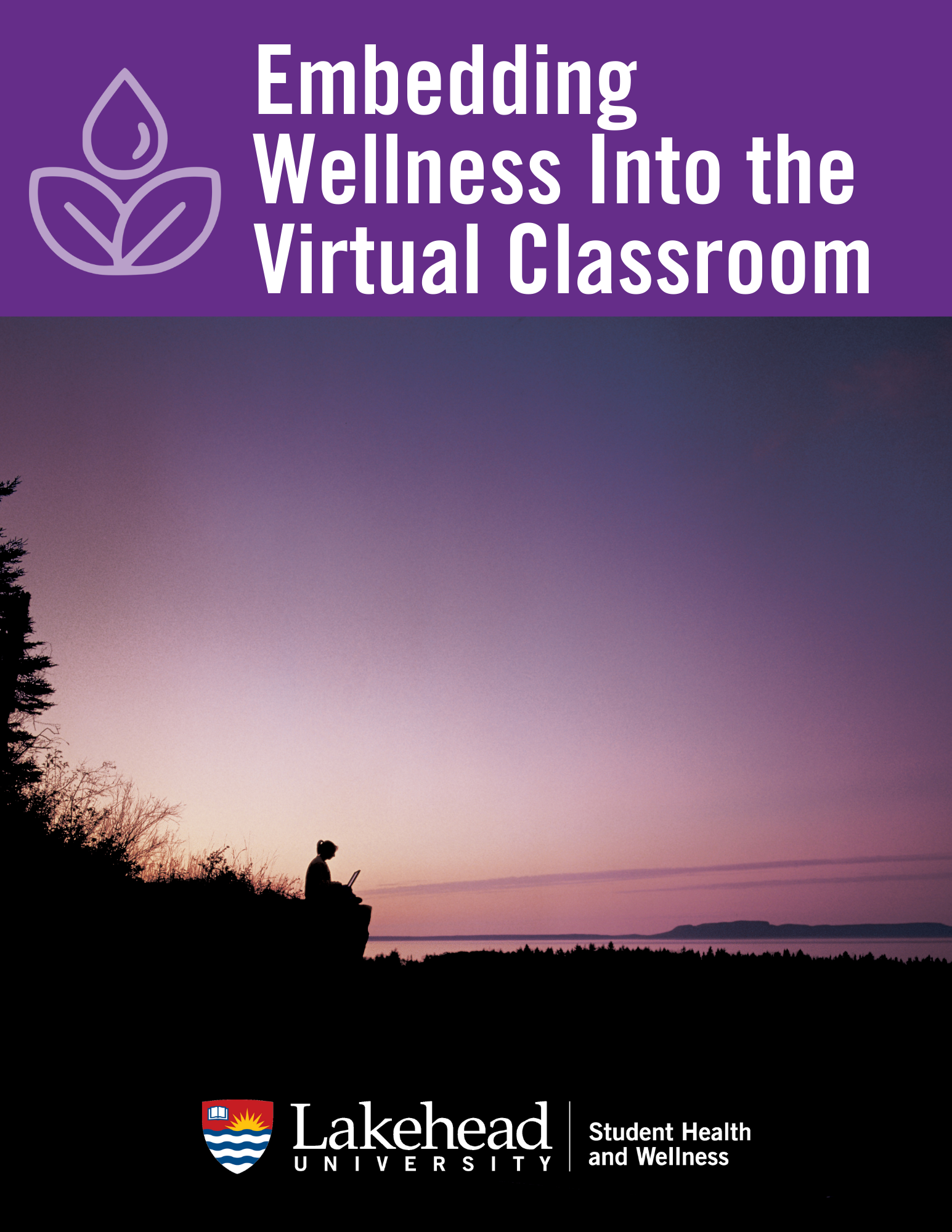 Embedding wellness into the virtual class room title page